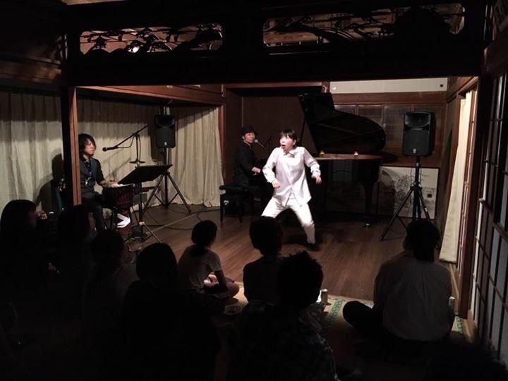 2017/5/24に鴻巣市のとある古民家、北方さん家にてパフォーマンスショーをして参りました。