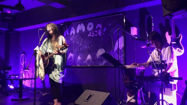2017/6/16京都府Music Bar HAMOにて湯野川広美(ひぃたん@ジン)LIVEのパーカッションを叩いてきました!